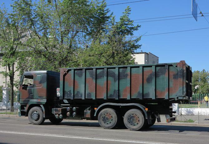 В Украине замечены интересные военные грузовики 1