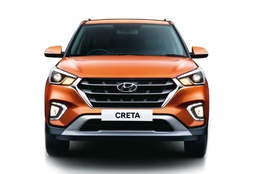 Hyundai официально представил еще раз обновленный кроссовер Creta 1