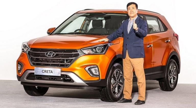 Hyundai официально представил еще раз обновленный кроссовер Creta 3