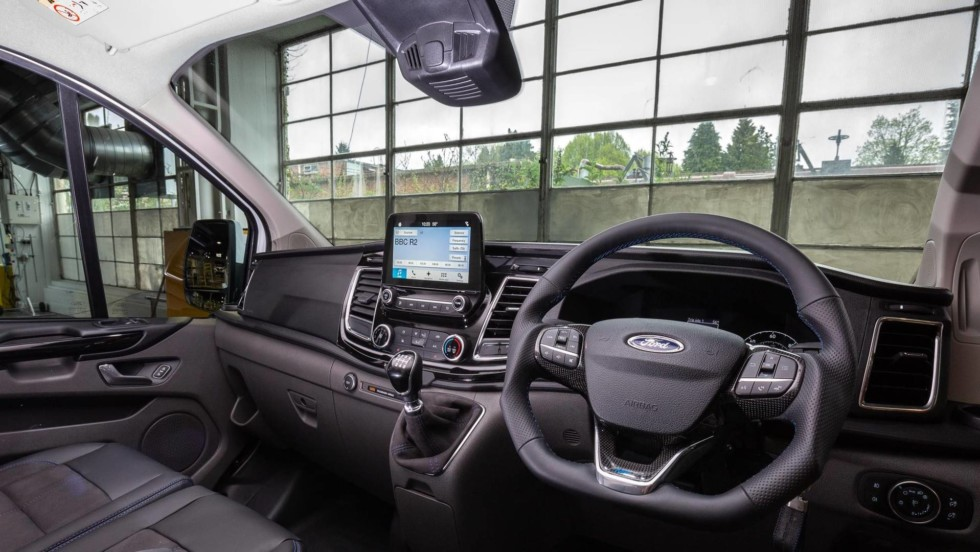 Ford презентовал «раллийную» версию фургона Transit 3
