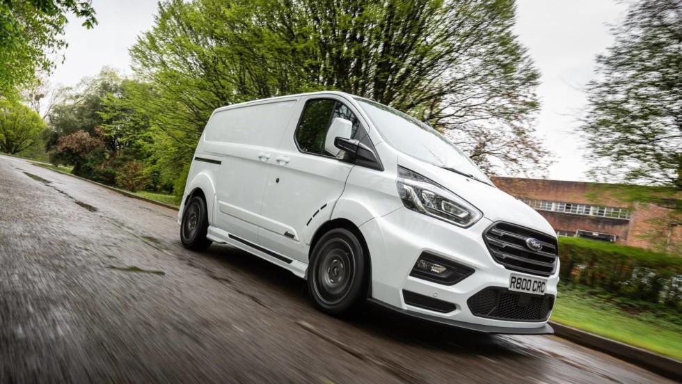 Ford презентовал «раллийную» версию фургона Transit 2
