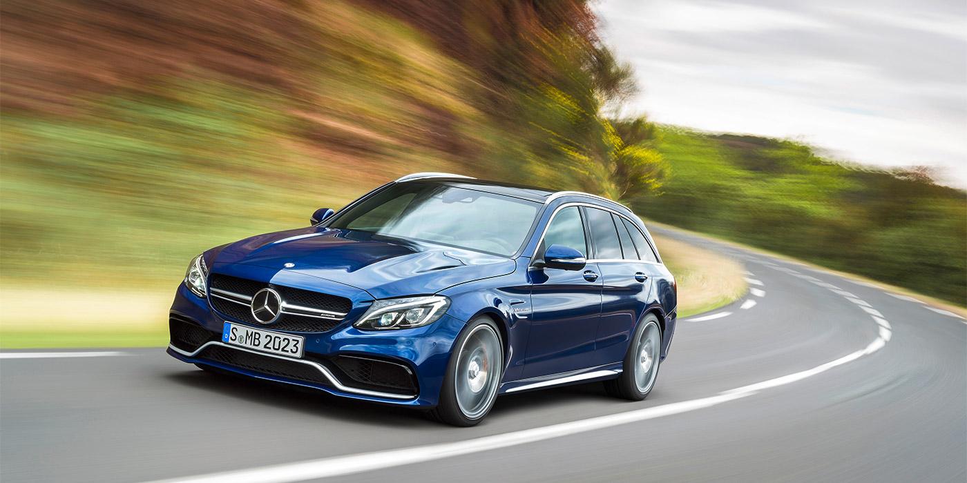 Mercedes-Benz разработает вседорожный универсал C-Class 1