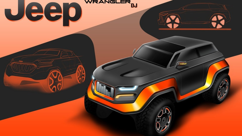 Jeep продемонстрировал лучшие дизайн-проекты своих автомобилей 1