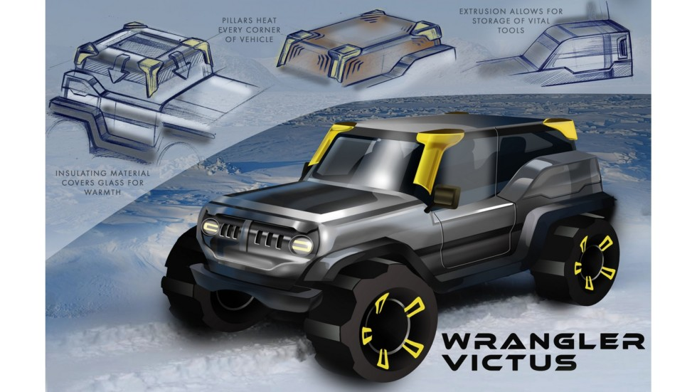 Jeep продемонстрировал лучшие дизайн-проекты своих автомобилей 2