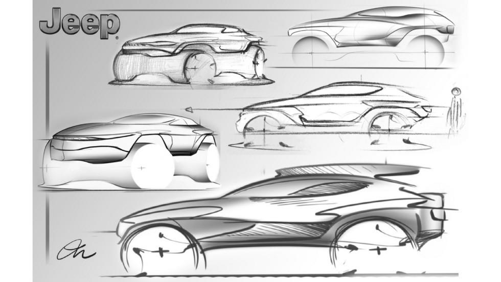 Jeep продемонстрировал лучшие дизайн-проекты своих автомобилей 3