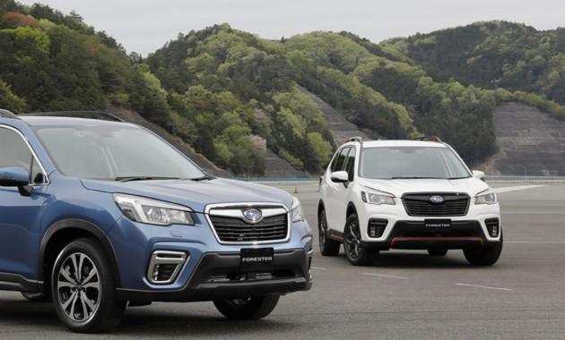 Новый Subaru Forester добрался до своей родины 1