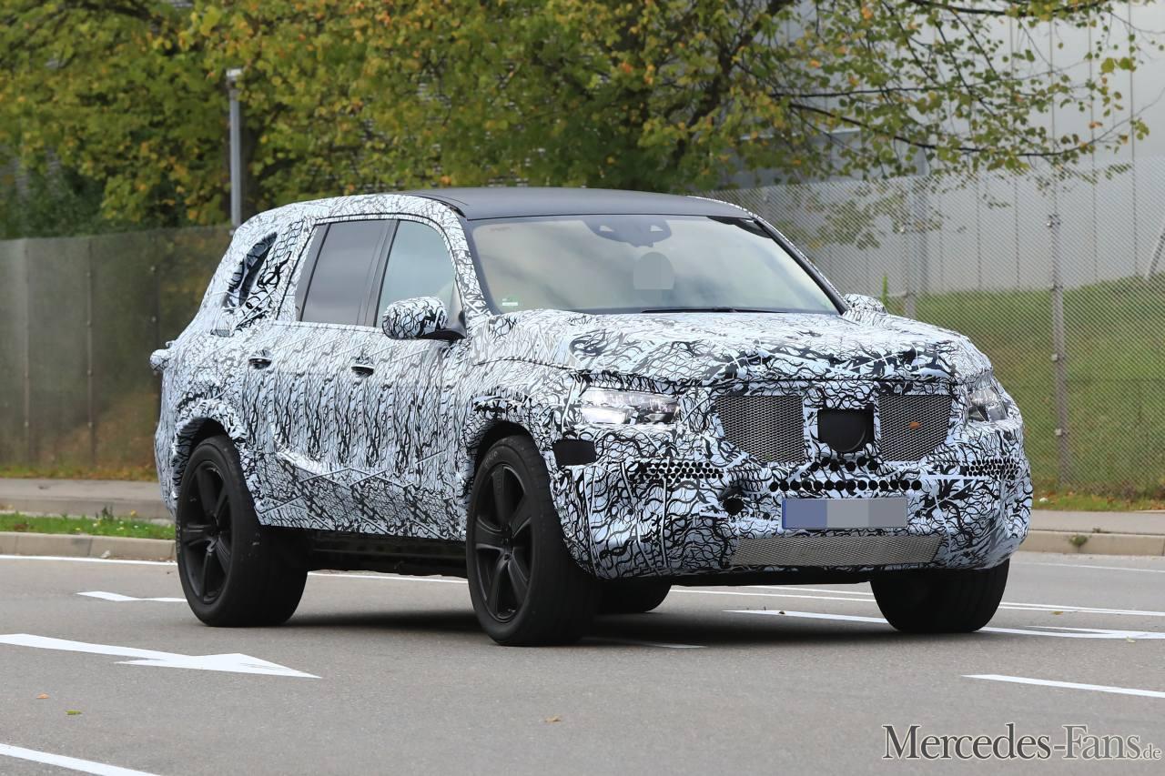 Mercedes-Maybach GLS обзавелся подвеской нового уровня 1