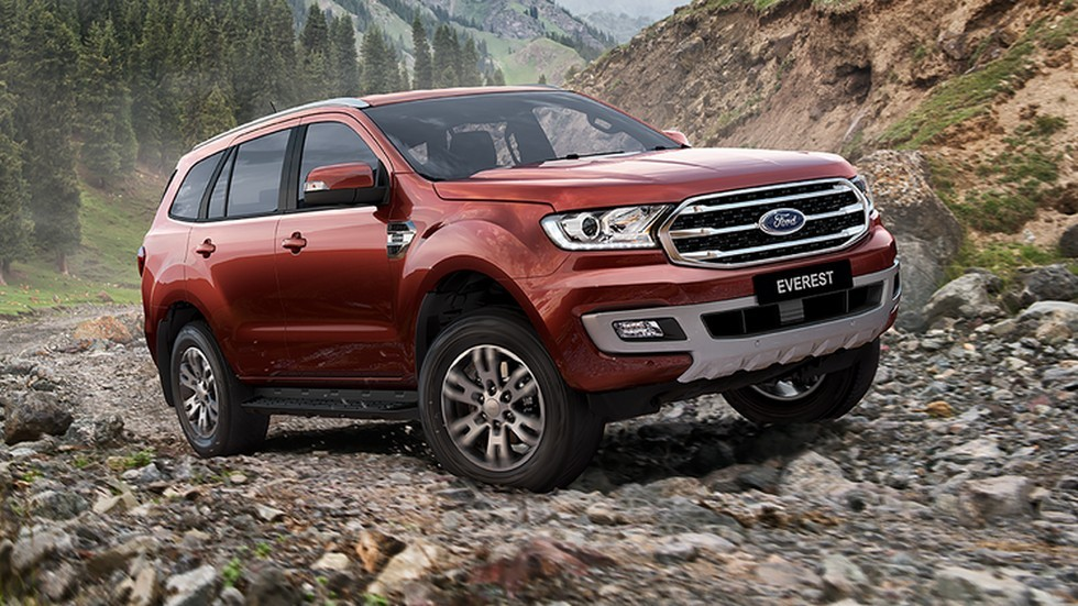 Ford обновил внедорожник Everest 1