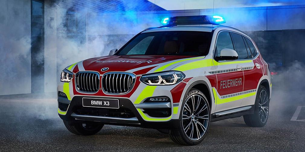BMW презентовала полицейский MINI и пожарный X3 2
