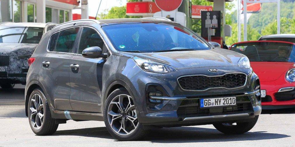 Новый Kia Sportage показался в Сети до премьеры 1