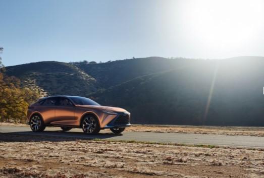 Lexus представит абсолютно новую модель 2