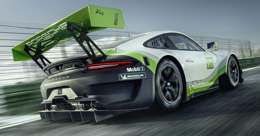 Porsche усовершенствовала гоночный 911-й 2