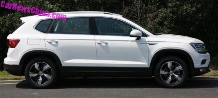 Volkswagen готовится к премьере кроссовера Tharu 2