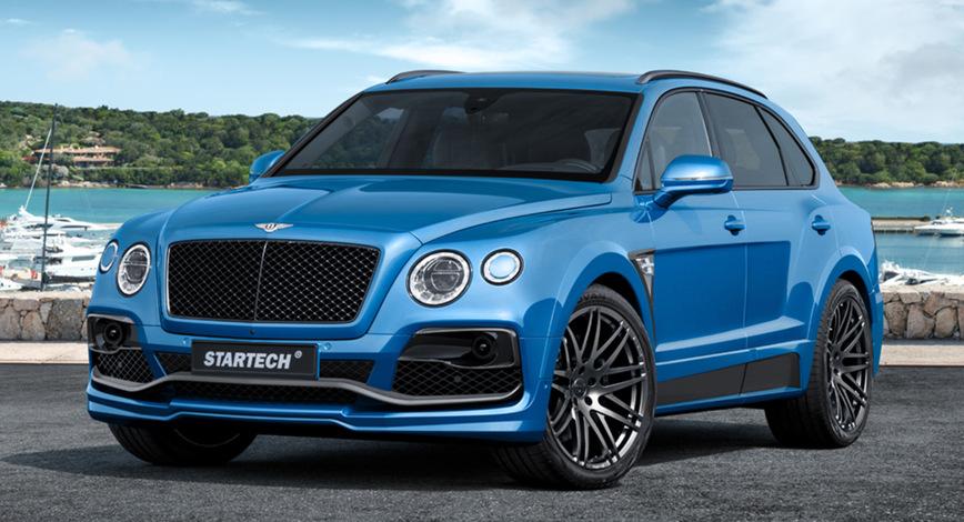 Bentley Bentayga получил обвес от Startech — в разделе «Звук и тюнинг» на сайте AvtoBlog.ua