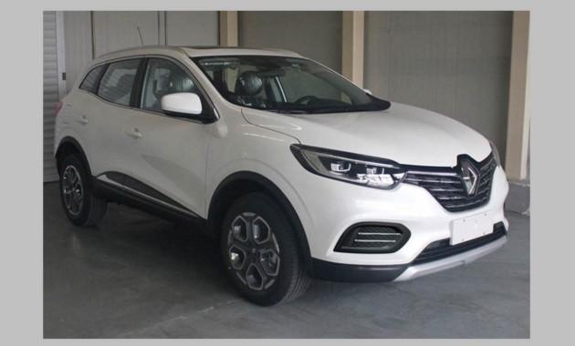 Рестайлинговый Renault Kadjar рассекретили до премьеры 1