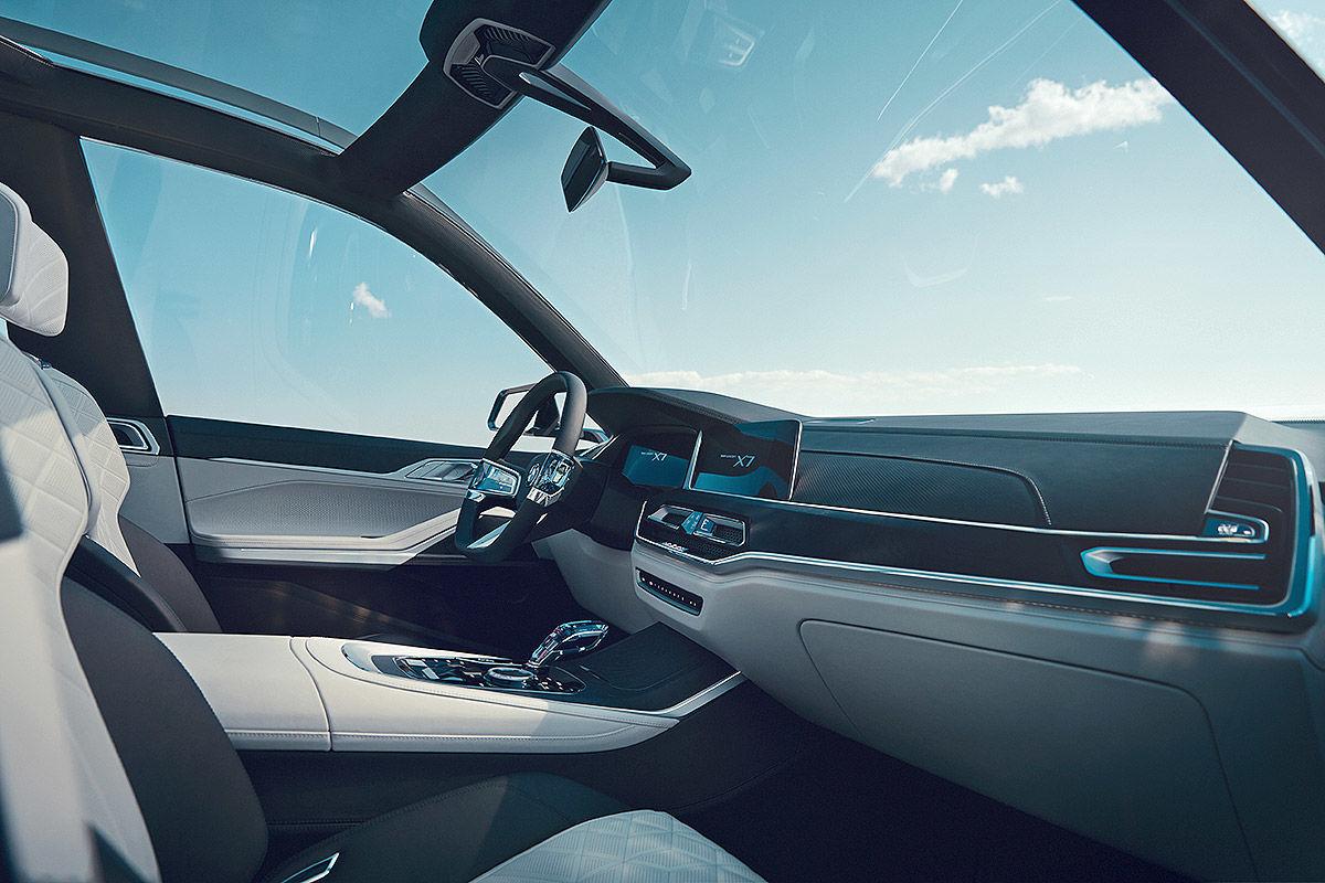 «Шик и роскошь»: тест-драйв BMW X7 5