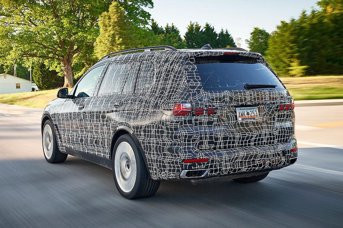 «Шик и роскошь»: тест-драйв BMW X7 3