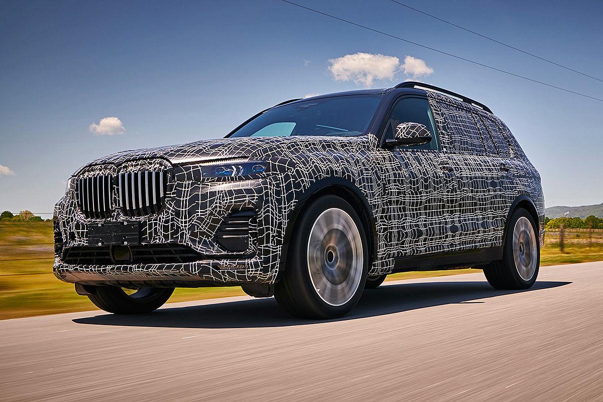 «Шик и роскошь»: тест-драйв BMW X7 2