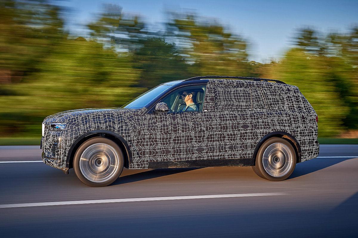 «Шик и роскошь»: тест-драйв BMW X7 4