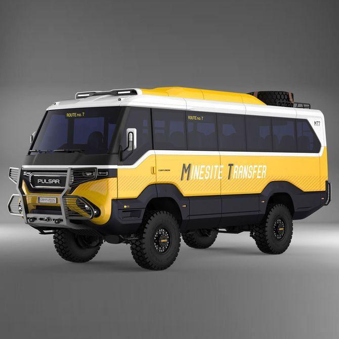 В Украине появились внедорожные автобусы Torsus 2
