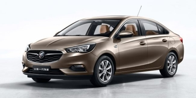 Buick презентовал новый компактный седан Excelle 1