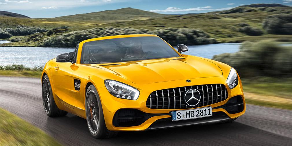 Mercedes-AMG презентовал родстер GT S 1