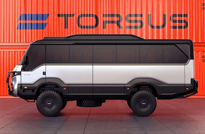 В Украине появились внедорожные автобусы Torsus 3