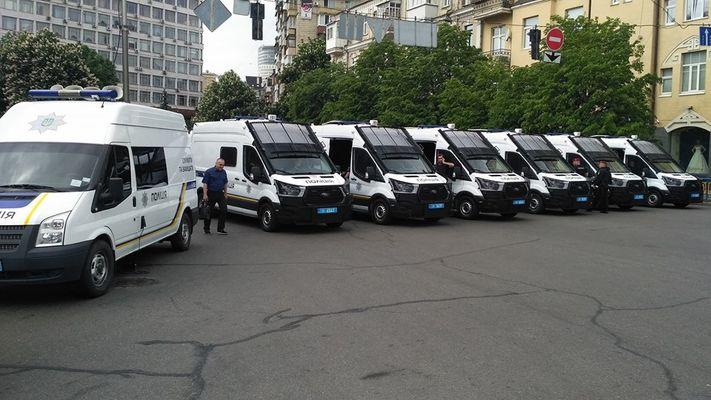 В Украине появились необычные полицейские автомобили 1