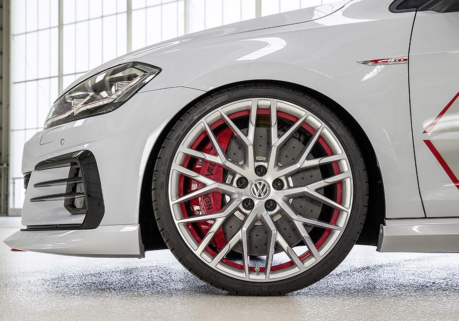 Молодежь с заводов Volkswagen сделала 414-сильный Golf GTI и газовый кросс-универсал 2