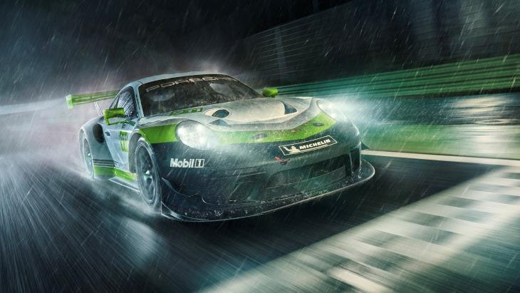 Porsche обновил гоночный спорткар 911 GT3 R 2
