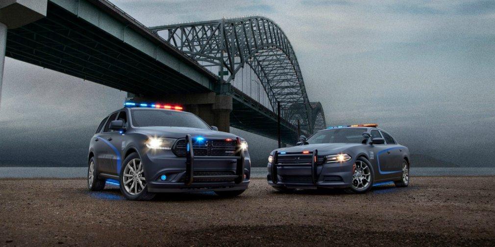 Из Dodge Durango сделали полицейский автомобиль 1