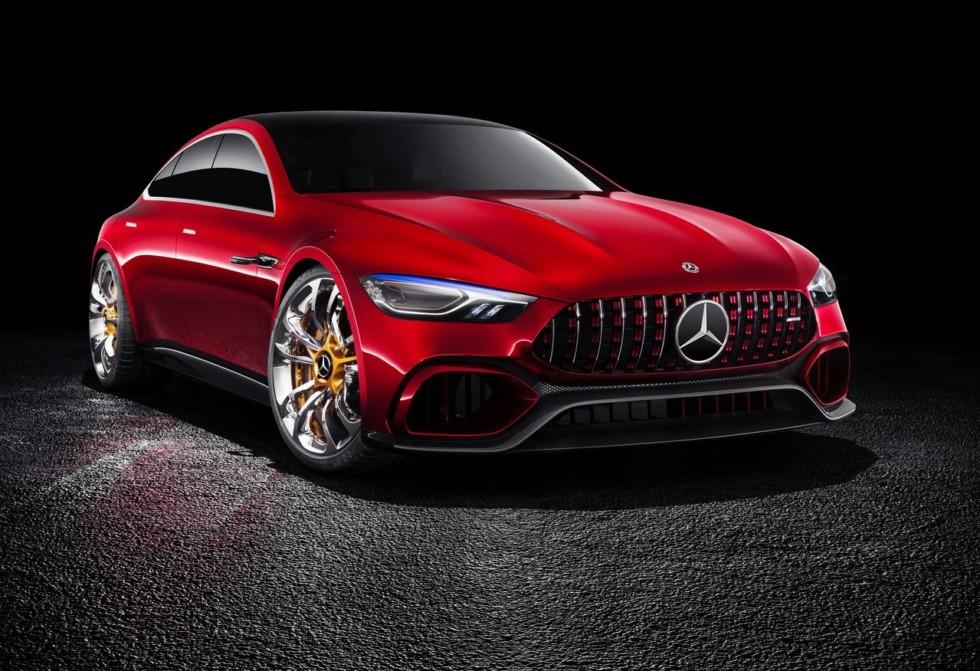 Серийный Mercedes-AMG GT Concept обзаведется 800-сильным двигателем 1