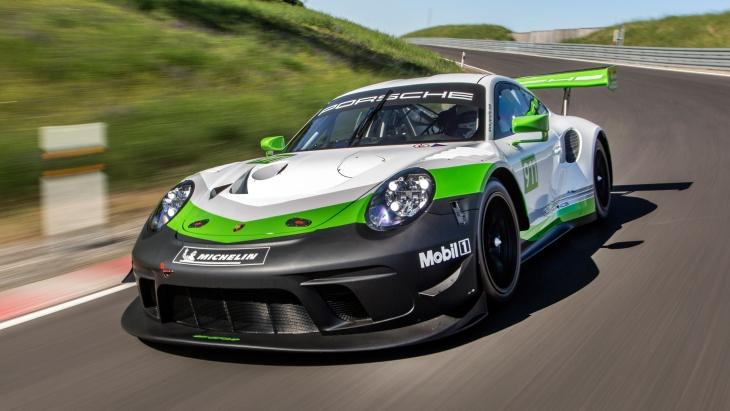 Porsche обновил гоночный спорткар 911 GT3 R 1