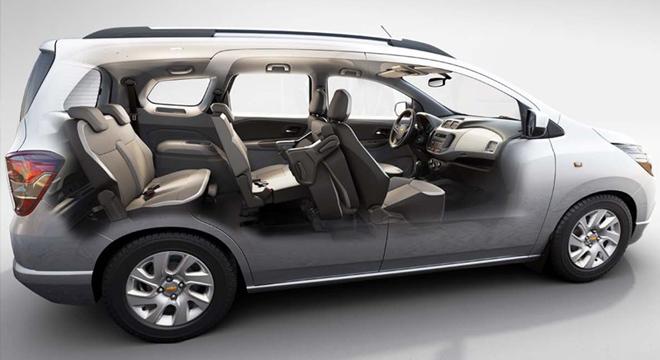 Chevrolet представит обновленный компактвэн Spin 1