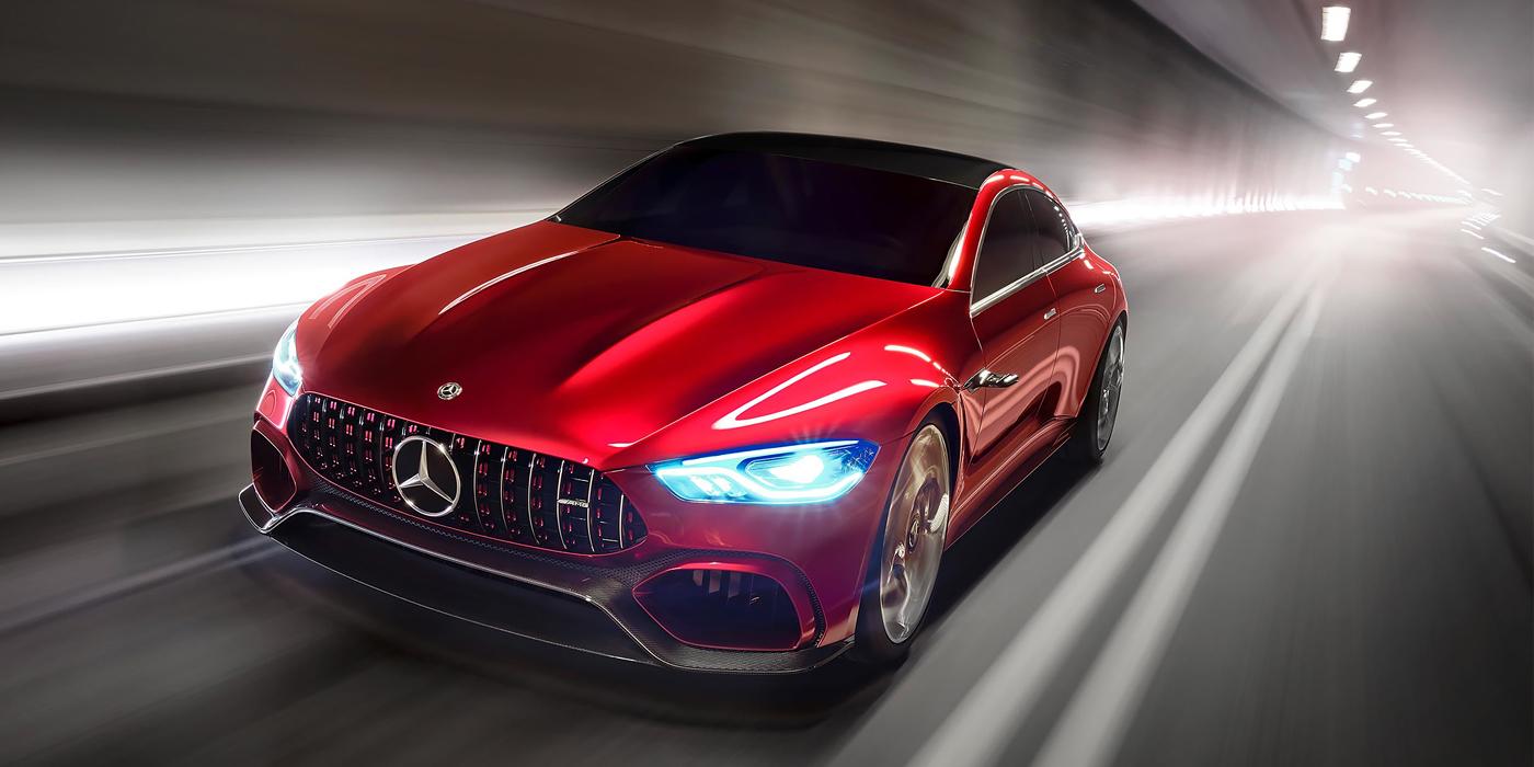 Mercedes-AMG выпустит 805-сильный гибрид 1