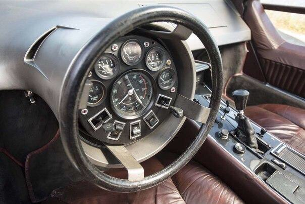 Maserati Boomerang — настоящий шедевр индустриального дизайна 70-х 1