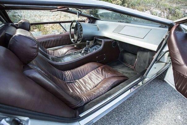 Maserati Boomerang — настоящий шедевр индустриального дизайна 70-х 2