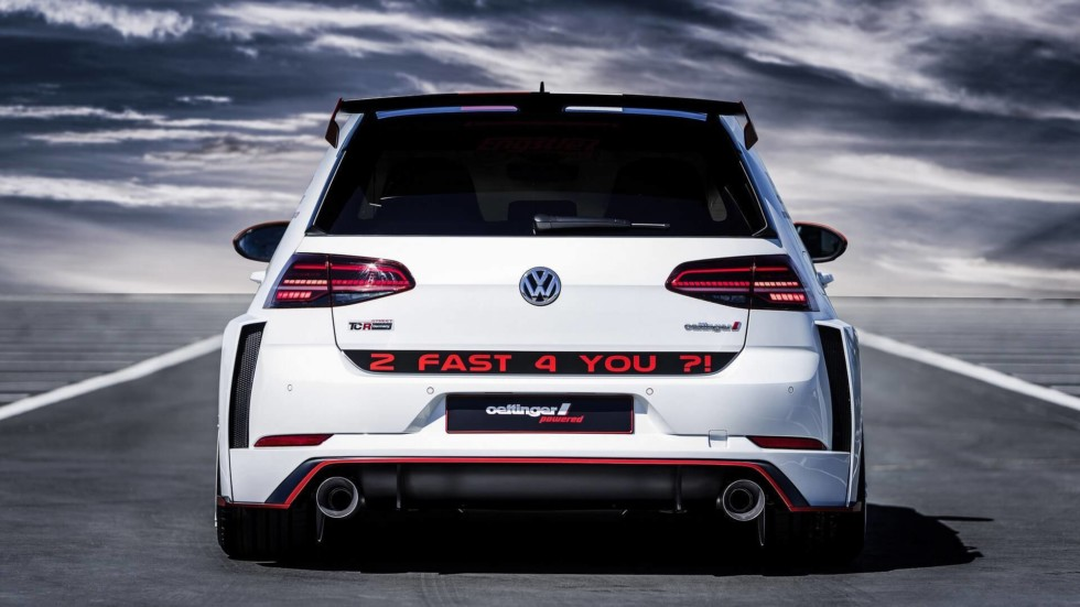 Ателье Oettinger построило 355-сильный Volkswagen Golf GTI 2