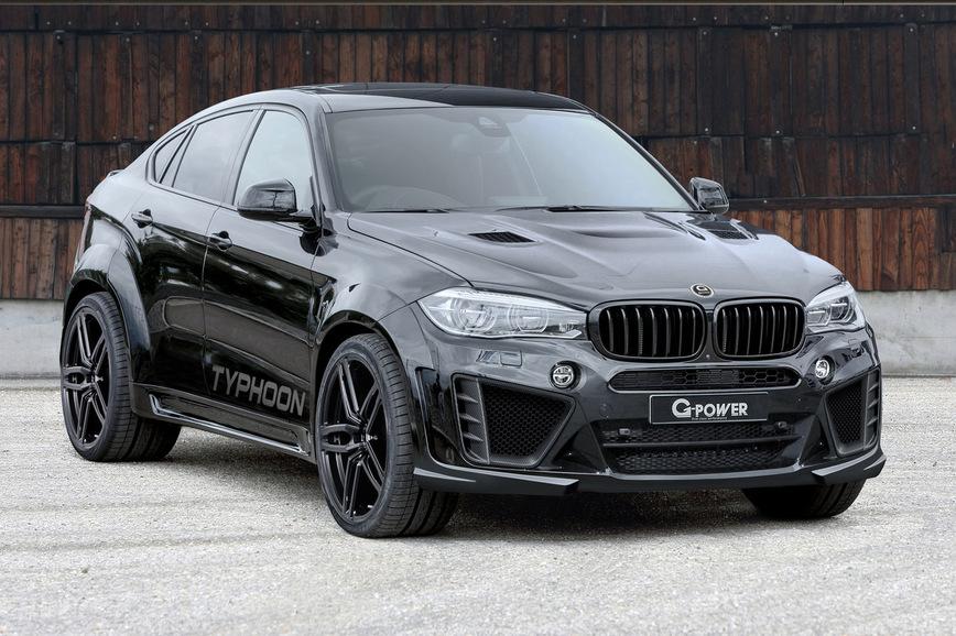 BMW X6 M превратился в настоящий «Тайфун» 2