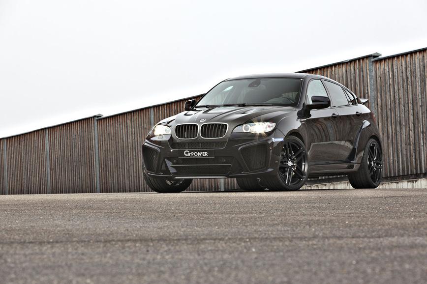 BMW X6 M превратился в настоящий «Тайфун» 1