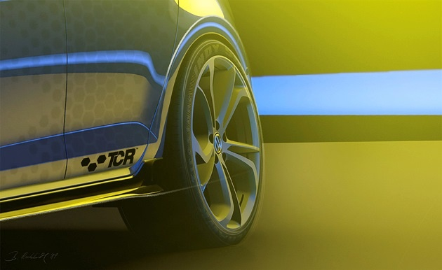 Volkswagen официально презентовал новый Golf GTI 3