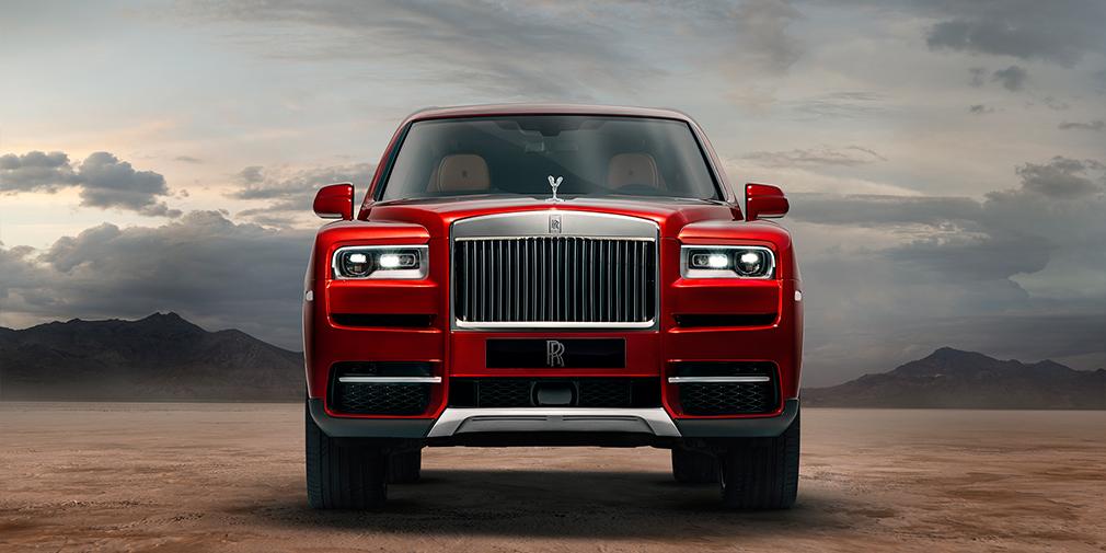 Rolls-Royce официально представил свой первый кроссовер 1