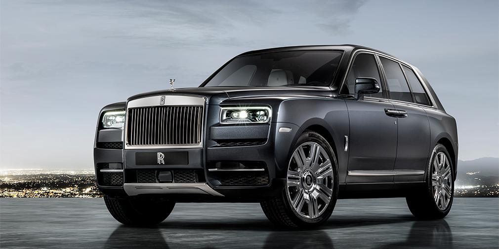 Rolls-Royce официально представил свой первый кроссовер 2