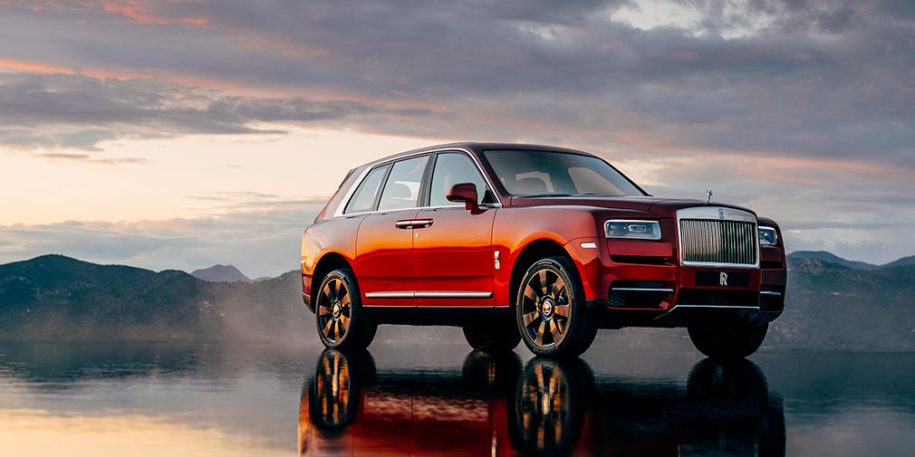 Rolls-Royce официально представил свой первый кроссовер 4