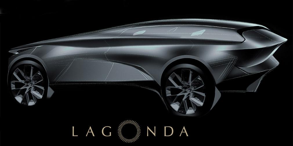 Aston Martin представит электрокросс под суббрендом Lagonda 1