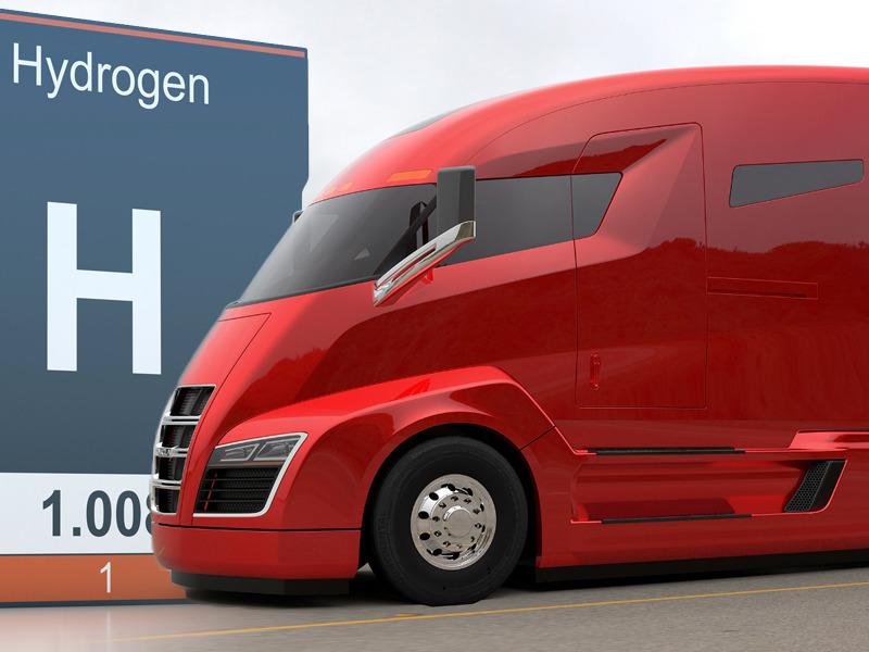 В грузовиках Nikola будут возить пиво 1