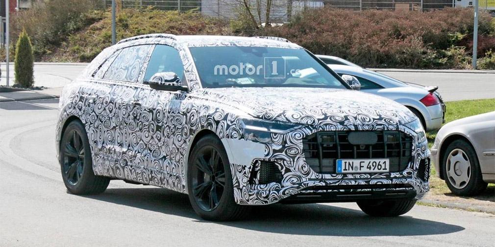 Audi Q8 отправился на тесты 1