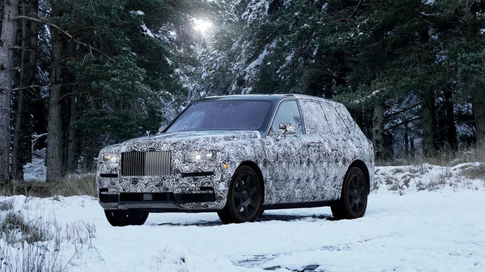 Rolls-Royce показал первое официальное изображение внедорожника Cullinan 2