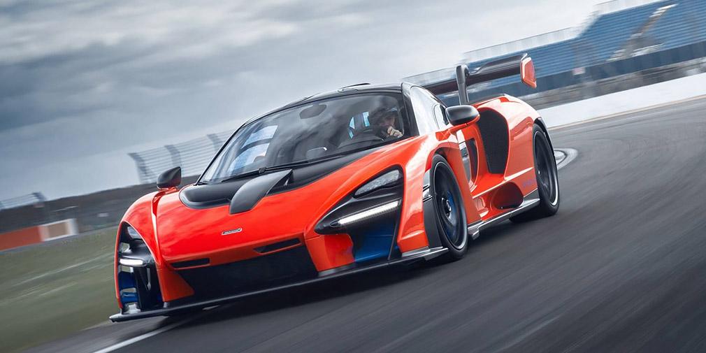McLaren тестирует электрический суперкар 1