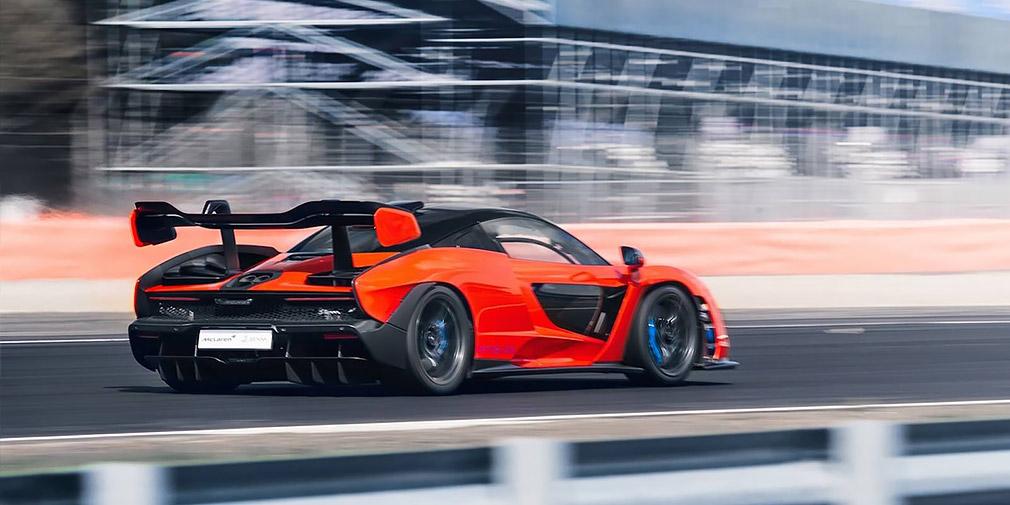 McLaren тестирует электрический суперкар 2